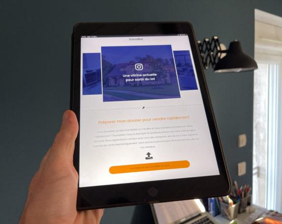 Constituez votre dossier de vente avec notre outil en ligne