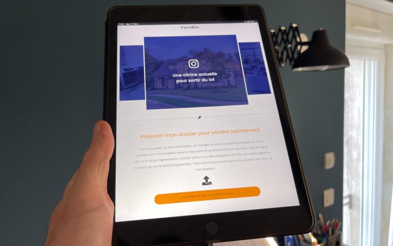 outil vente maison en ligne vendee lesclessurlaporte
